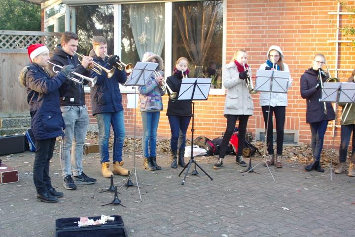 Weihnachtsmarkt 2016 - Jelmstorf - Posaunenchor