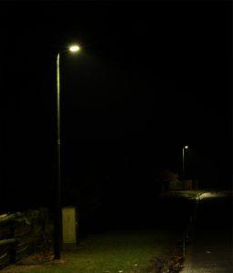 Neue Straßenbeleuchtung