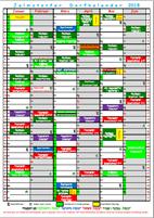 Dorfkalender 2018 - Jan. - Juni