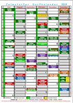 Dorfkalender 2018 - Juli - Dez.