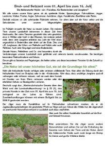 Leinenzwang - Info
