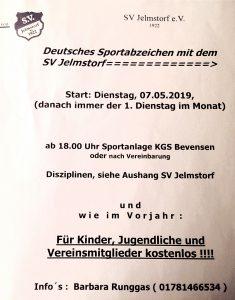 Sportabzeichen SV Jelmstorf
