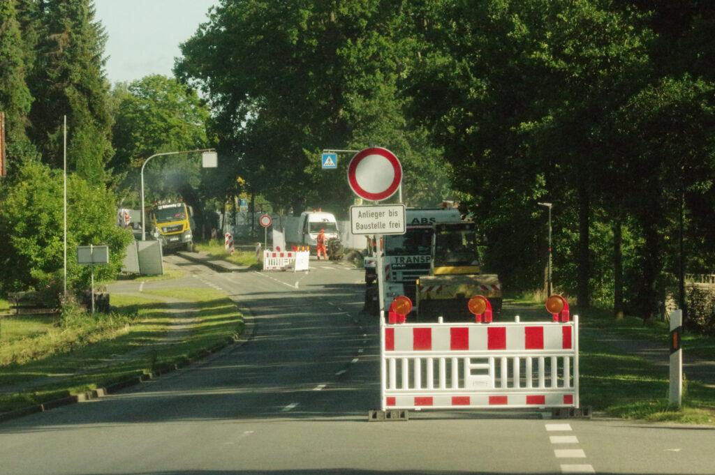 Ortsdurchfahrt Jelmstorf